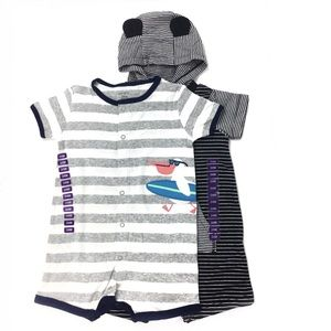 Carters Toddler Rompers One Piece Boys 24 months